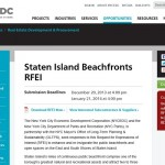 Staten Island Beachfronts RFEI Released