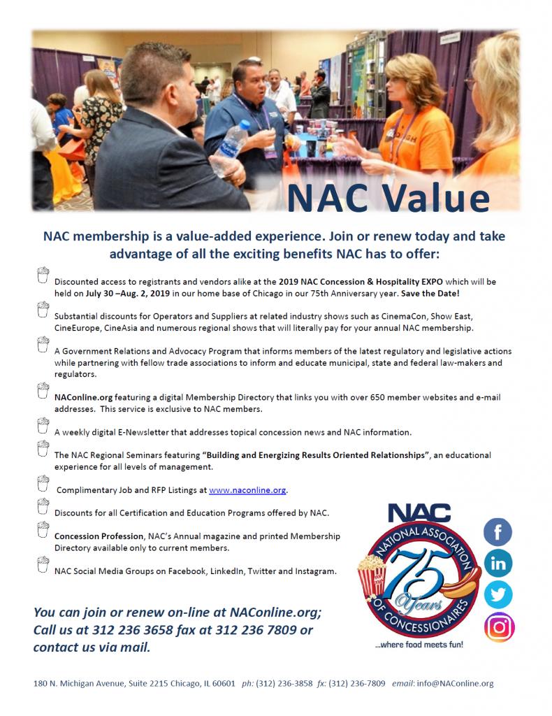 Nac Value National Association Of Concessionaires