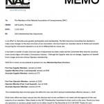 2015 Membership Rate Memo