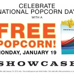 National Amusements Celebrates 'National Popcorn Day' with Free Popcorn