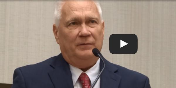 Video: Kroeger Accepts 2015 Mickey Warner Award