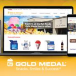Gold Medal Launches New Website