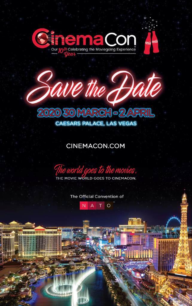 Cinemacon The Official Convention Of Nato National Association Of Concessionaires