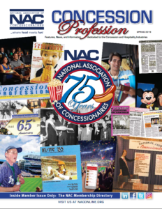 2020 Concession Profession Advertising Available Now