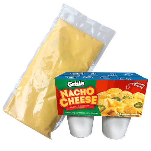 Gehl's Nacho Cheese Sauce Available in New Small Pack Formats
