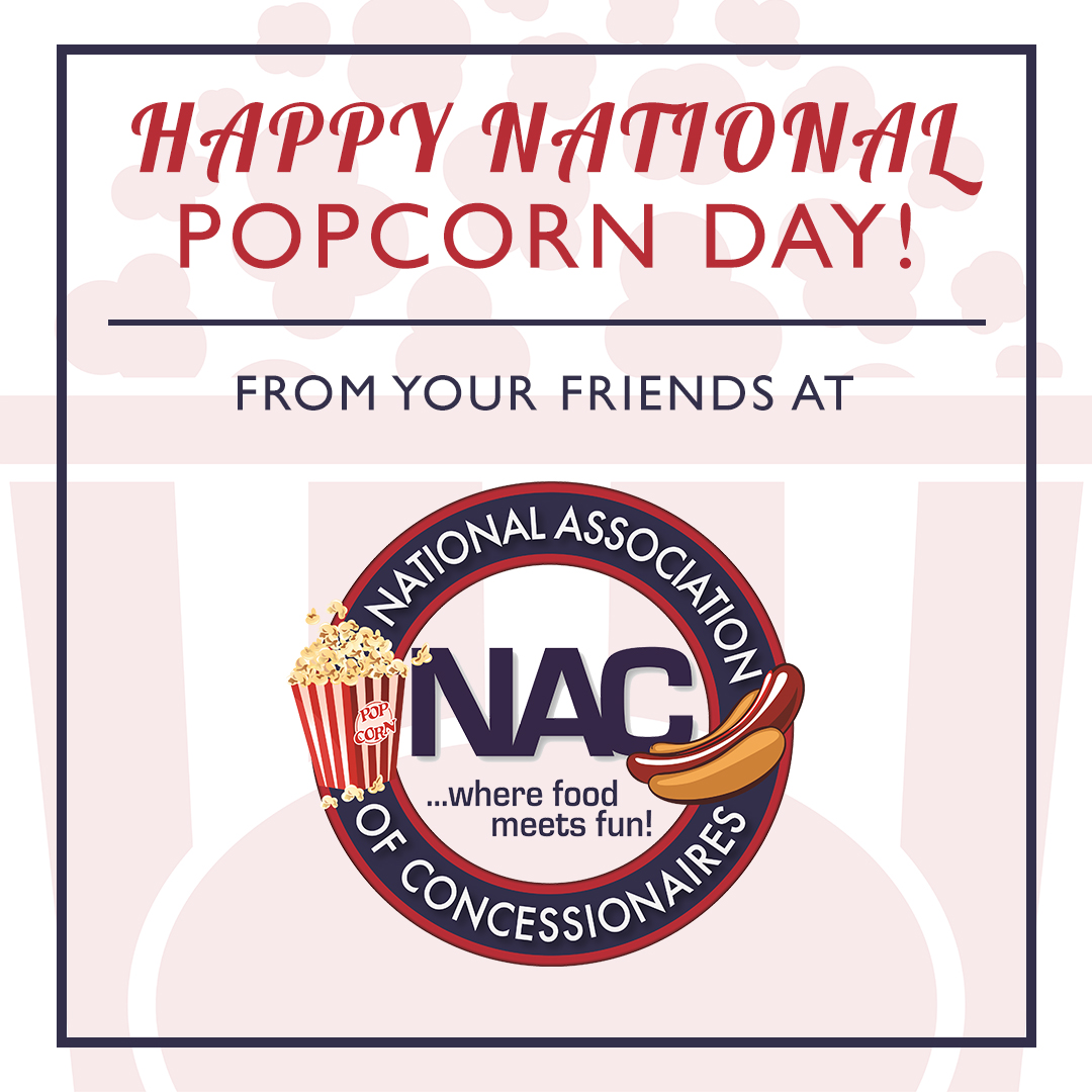 Celebrate National Popcorn Day with ICA and NAC!