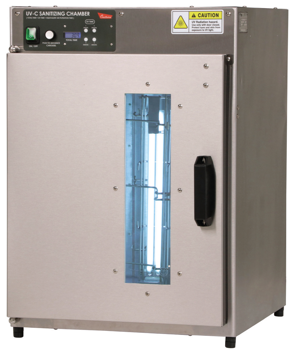 C. Cretors Adds UV-C Sanitizing Chamber to Safety Products Line