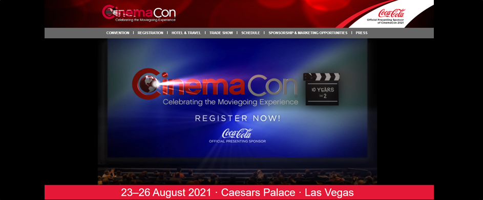 CinemaCon Registration Open!